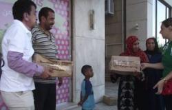 توزيع مساعدات من جامعة القاهرة على الأسر الأكثر احتياجا بالشيخ زويد ورفح