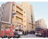 حريق شقة سكنية يؤدي الي إصابة شخصين بالكويت